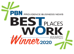 Providence Business News Best Places to Work Wards 2020 Winner