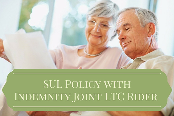 Survivorship Universal Life Policy with Indemnity Joint ...